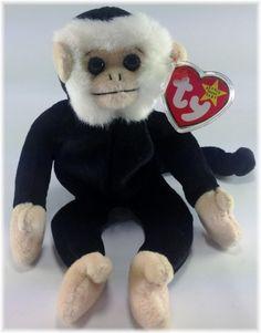 65a5ac47222 Ty MOOCH 1999 Black Spider Monkey Primate 9
