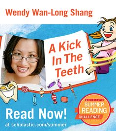 The first summer story is live on the Summer Reading Challenge website! Read A Kick In The Teeth, by Wendy Wan-Long Shang. Kids will love this whimsical story about an aspiring dentist who disrupts fairy tales on a quest for cleaner teeth. Click through to read! scholastic.com/summer #summerreading