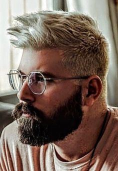 Hot Beards, Gay Beard, Great Beards, Awesome Beards, Beard Styles For Men, Hair And Beard Styles, Short Hair Styles, Beard Images, Beard Head