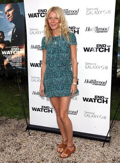 LOVING Gwyneth Paltrow's printed dress in the #Hamptons
