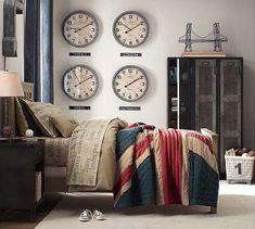 Las mejores habitaciones juveniles de estilo industrial - https://decoracion2.com/habitaciones-juveniles-de-estilo-industrial/ #Dormitorios, #Estilo_Industrial, #Habitaciones_Juveniles