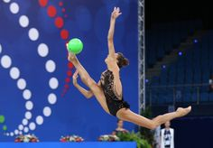 Viktoria MAZUR (Ukraine)🇺🇦 ~ Ball @ World Cup Pesaro-Italy 2017🇮🇹 💝💝 Photo by 🇺🇦Kate Ianiuk.
