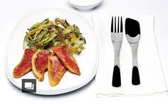 Zucchine e fiori di zucca - Piattoforte