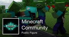 https://www.facebook.com/pages/Community-Minecraft/237747356418337  Looking for admins to help out with pics and buildings they like to do