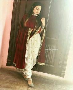 Slight colour variation may be there due to digital view. Punjabi Fashion, Indian Fashion Dresses, Dress Indian Style, Patiala Suit Designs, Kurti Designs Party Wear, Kurta Designs, Blouse Designs, Indian Wedding Wear, Indian Wear