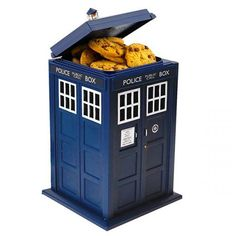 Doctor Who TARDIS Cookie Jar with Hidden Camera