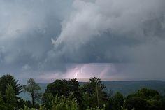 Cowaboomga!  Stormy day in Endicott, NY 6/28/2016