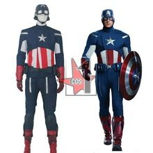 Moive Captain America costume High quality captain america Cosplay Cloth set for adult Avengers costumes for role paly CN0099(China (Mainland))