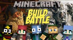 Minecraft ITA : ROBOT / MAGHI - Build Battle Minigame