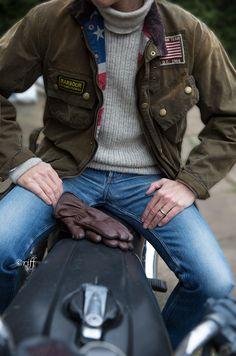jean, mcqueen barbour, men styles, barbour menswear, motorcycl, aviators, fashion styles, steve mcqueen, barbour jacket