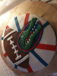 Gators cake !!