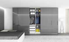 Výsledek obrázku pro vestavěná skříň moderní