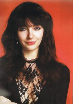 """Kate Bush for """"Wuthering Heights"""" Still get chills, Kate."""
