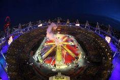 Aug. 12, 2012 - London Olympic Closing Ceremony