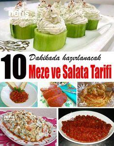 10 Dakikada Hazırlanacak 10 Nefis Meze Tarifi - Nefis Yemek Tarifleri