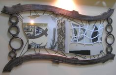 Χειροποίητη δημιουργία μου σε ξύλο-σχοινιά-υπάρχει δυνατότητα διαφοροποιήσεων. Paper Mache, Mirror, Frame, Furniture, Home Decor, Picture Frame, Papier Mache, Decoration Home, Room Decor
