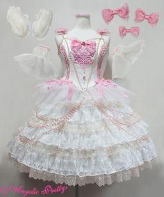 Angelic Pretty L'ETOILE DU THEATRE Dress Set