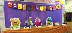 Monster Themed Scholastic Book Fair