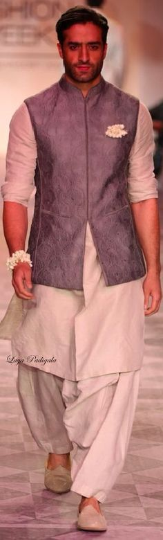 Ethnic jacket kurta. Cool as it gets