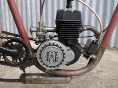 hillbilly's latest board track bike | Motored Bikes - Motorized Bicycle Forum