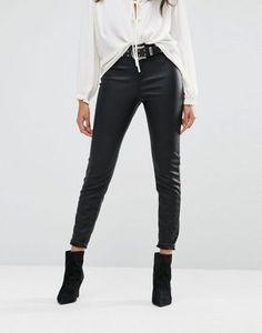 River Island - Pantalon skinny en similicuir