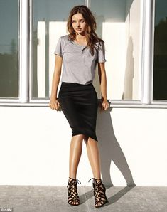 REVEALED: Miranda Kerr makes high street look high fashion in H&M's new campaign
