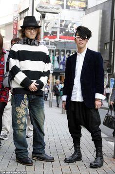 Japanese Mens Fashion Shibuya
