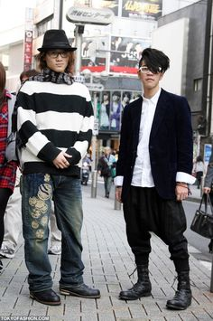 Japanese Mens Fashion Shibuya