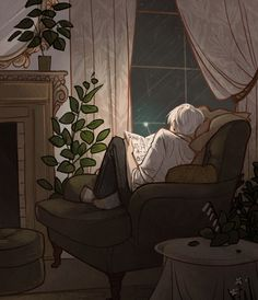 evening by the fire. - 57d804b438bc8180390938.gif (540×627)