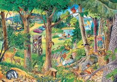Mein großes Wimmelbuch Tiere: Amazon.de: Anne Suess: Bücher