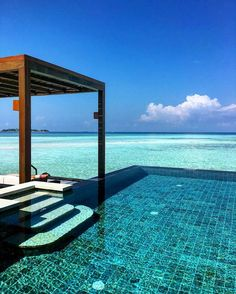 Four Seasons Maldives at Kuda Huraa, Maldives || Places to #getlucky curated by your friends at luckybloke.com