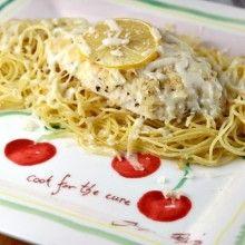 Lemon Chicken Parmesan