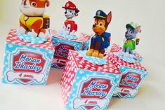 Birthday Giveaways For Kids, Paw Patrol, Ideas Party, Ticket Invitation, Box