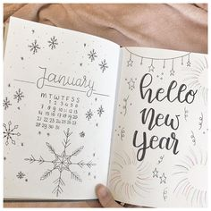 "@handlettering.by.b on Instagram: ""monthly layout januari❄️❤️ #bulletjournalideas #bulletjournal #monthlylayout #hlbyb #bulletjournaling #bujo #bujoinspiration…"""