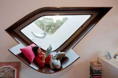 20 Comfortable Reading Nooks For Your House      They have some really cool ideas!0