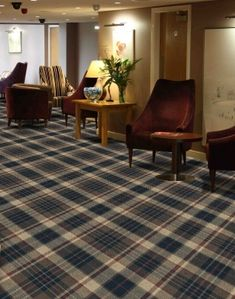 Most current Totally Free tartan Carpet Stairs Thoughts One of the fastest approaches to revamp your tired old staircase is to cover it with carpet. Tartan Stair Carpet, Carpet Stairs, Basement Carpet, Cheap Carpet, Diy Carpet, Bedroom Carpet, Living Room Carpet, Rustic Stairs, Hotel Carpet