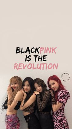Blackpink is the Revolution 🖤💗 Pink Wallpaper, Wallpaper Quotes, Beautiful Wallpaper, Blackpink Youtube, Kpop Wallpapers, Wallpapers Android, Simple Wallpapers, Blackpink Poster, Mode Kpop