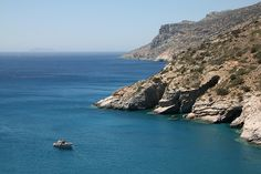 Mouros beach in Amorgos island