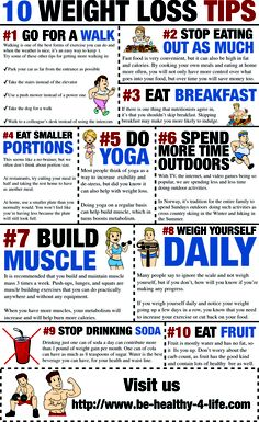 10 weight loss tips    http://www.be-healthy-4-life.com