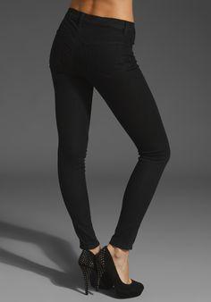 JBrand Super Skinny Jean in Nightwish $205.00 (Back View)