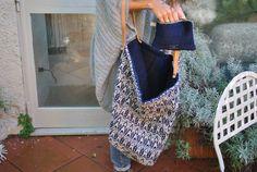 Oversize Bag n° 7  Made by Dandelion Firenze  #handmade4you #dandelionfirenze