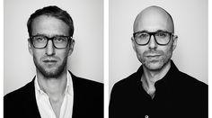Os designers Clemens Weisshaar e Reed Kram