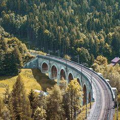"""Work, Travel, Save, Repeat"" 🛤🏞• • • • • #summer #colors #hill #art #mountain #railway #tones #agameoftones #bestoftheday #landscape #semmering #austria #like4like #follow4follow #photography #photographer #_allshots #l4l #f4f #followme #instalike#tbt #instagood #urban #urbex #explore #create #inspire  #trytogetbetter #youarenotalone"