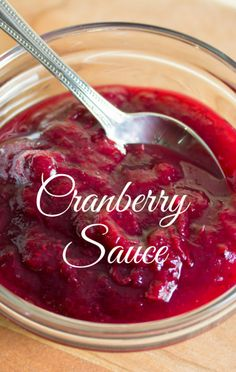On The Chew, Clinton Kelly shared two ways to make Cranberry Sauce, knowing that sometimes people just want a little more than that gelatinous blob that comes out of a can!