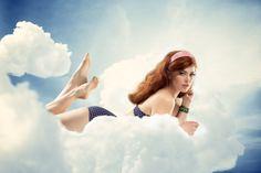Life on a cloud by Federico Chiesa, via Behance