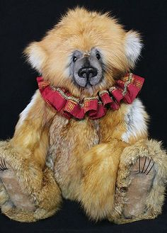 "27"" Red Fox Fur Bear by Lori Simon Bear Doll, Teddybear, Cute Little Things, Needful Things, Red Fox, Fox Fur, Stuffed Animals, Bears, Little Girls"