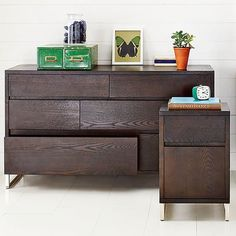 Hudson Dresser modern dressers chests and bedroom armoires