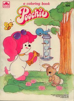 Poochie coloring book RARE UNUSED