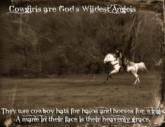 horse quote, cowgirl