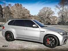 BMW X5M on ADV10 Deep Concave wheels + Brembos by wheels_boutique, via Flickr